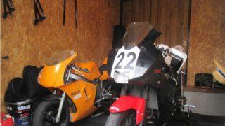 改装バイクガレージ